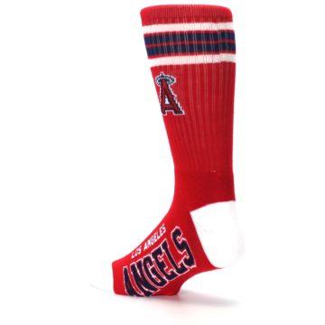 Image of Los Angeles Angels Men's Athletic Crew Socks (side-2-back-14)
