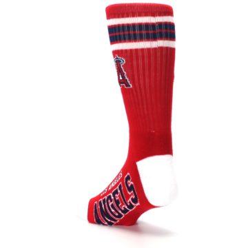 Image of Los Angeles Angels Men's Athletic Crew Socks (side-2-back-15)