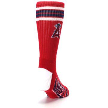 Image of Los Angeles Angels Men's Athletic Crew Socks (side-1-back-20)