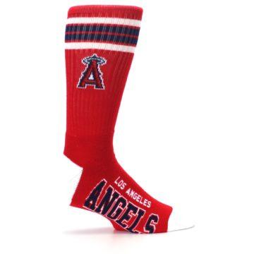 Image of Los Angeles Angels Men's Athletic Crew Socks (side-1-24)