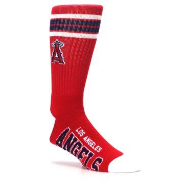 Image of Los Angeles Angels Men's Athletic Crew Socks (side-1-26)