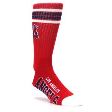 Image of Los Angeles Angels Men's Athletic Crew Socks (side-1-27)