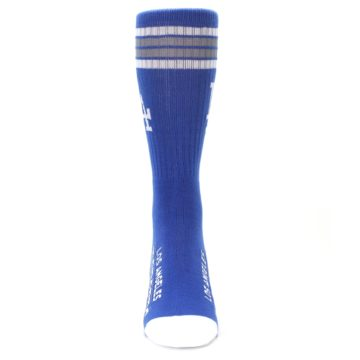 Image of Los Angeles Dodgers Men's Athletic Crew Socks (front-04)