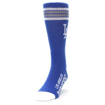 Image of Los Angeles Dodgers Men's Athletic Crew Socks (side-2-front-06)