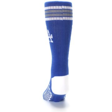 Image of Los Angeles Dodgers Men's Athletic Crew Socks (back-17)