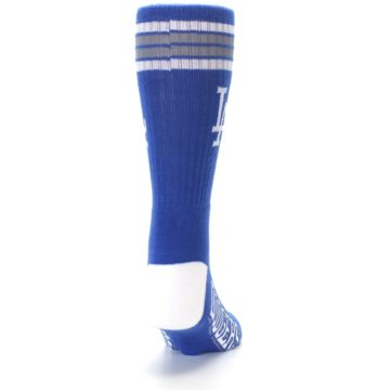 Image of Los Angeles Dodgers Men's Athletic Crew Socks (back-19)