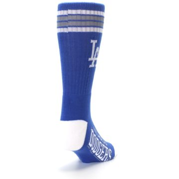 Image of Los Angeles Dodgers Men's Athletic Crew Socks (side-1-back-20)