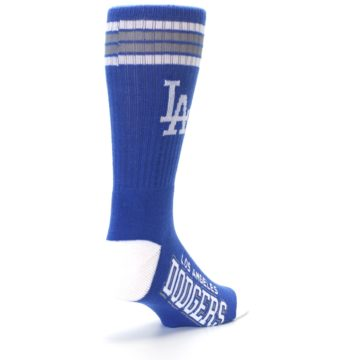 Image of Los Angeles Dodgers Men's Athletic Crew Socks (side-1-back-21)