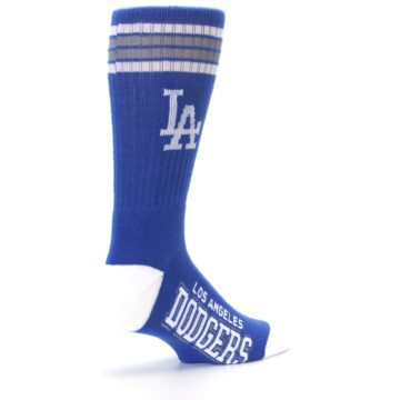 Image of Los Angeles Dodgers Men's Athletic Crew Socks (side-1-back-22)