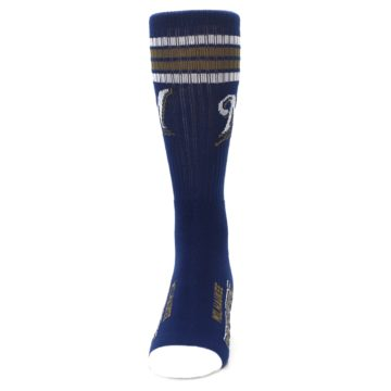 Image of Milwaukee Brewers Men's Athletic Crew Socks (front-05)
