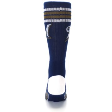 Image of Milwaukee Brewers Men's Athletic Crew Socks (back-18)