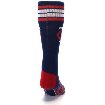 Image of Minnesota Twins Men's Athletic Crew Socks (back-19)