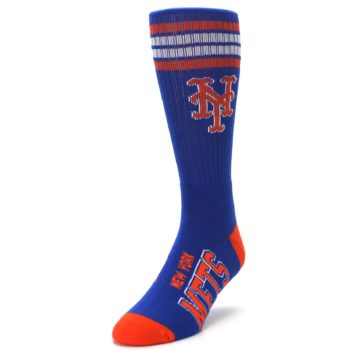 Image of New York Mets Men's Athletic Crew Socks (side-2-front-07)