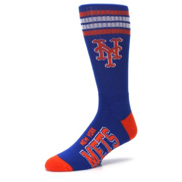 Image of New York Mets Men's Athletic Crew Socks (side-2-09)
