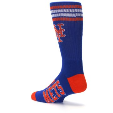 Image of New York Mets Men's Athletic Crew Socks (side-2-back-14)