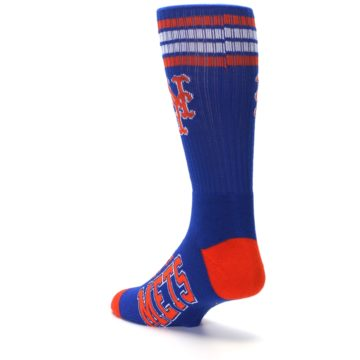 Image of New York Mets Men's Athletic Crew Socks (side-2-back-15)