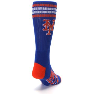 Image of New York Mets Men's Athletic Crew Socks (side-1-back-20)
