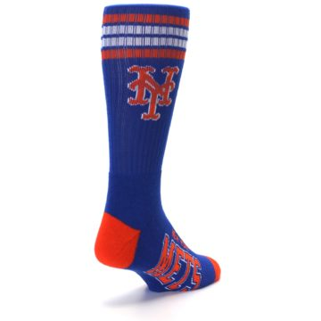 Image of New York Mets Men's Athletic Crew Socks (side-1-back-21)
