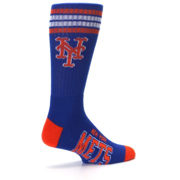 Image of New York Mets Men's Athletic Crew Socks (side-1-23)
