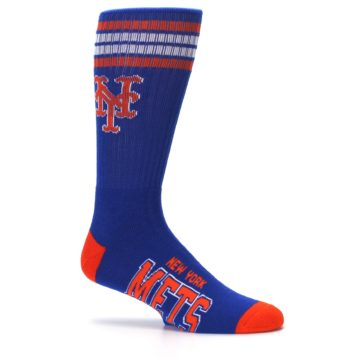 Image of New York Mets Men's Athletic Crew Socks (side-1-25)
