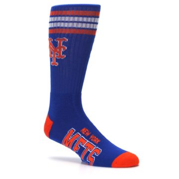 Image of New York Mets Men's Athletic Crew Socks (side-1-26)