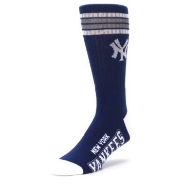 Image of New York Yankees Men's Athletic Crew Socks (side-2-front-08)