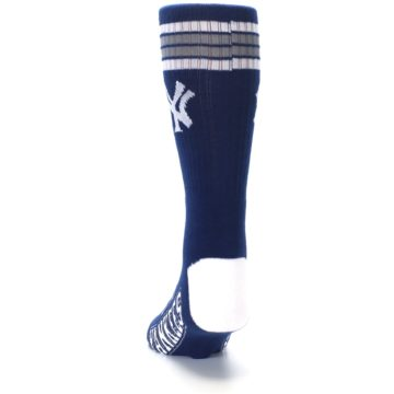 Image of New York Yankees Men's Athletic Crew Socks (back-17)