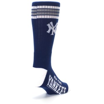 Image of New York Yankees Men's Athletic Crew Socks (side-1-back-21)