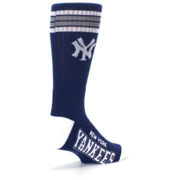 Image of New York Yankees Men's Athletic Crew Socks (side-1-back-22)