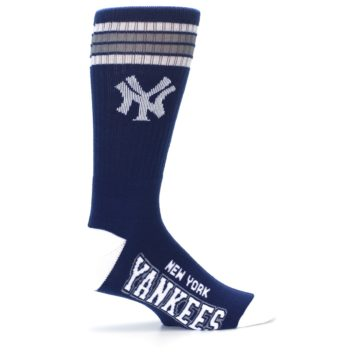 Image of New York Yankees Men's Athletic Crew Socks (side-1-24)