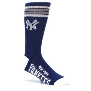 Image of New York Yankees Men's Athletic Crew Socks (side-1-26)