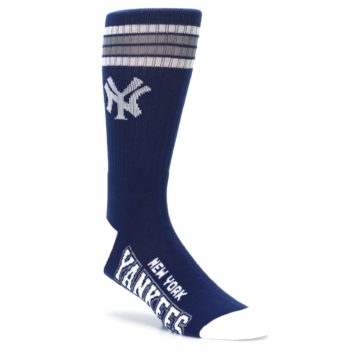 Image of New York Yankees Men's Athletic Crew Socks (side-1-27)
