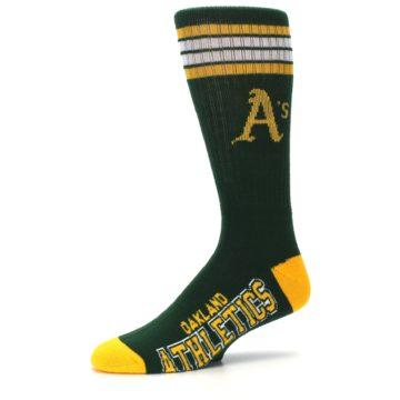Image of Oakland Athletics Men's Athletic Crew Socks (side-2-10)
