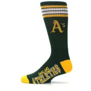 Image of Oakland Athletics Men's Athletic Crew Socks (side-2-12)