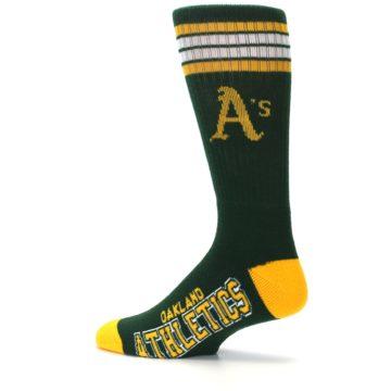 Image of Oakland Athletics Men's Athletic Crew Socks (side-2-13)