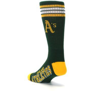 Image of Oakland Athletics Men's Athletic Crew Socks (side-2-back-15)