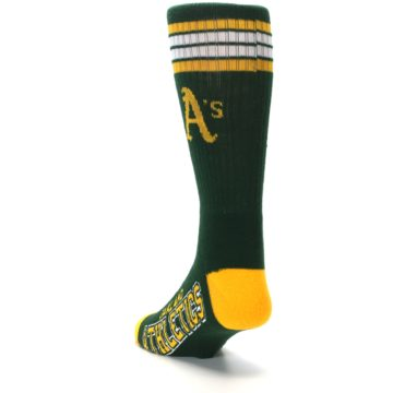 Image of Oakland Athletics Men's Athletic Crew Socks (side-2-back-16)