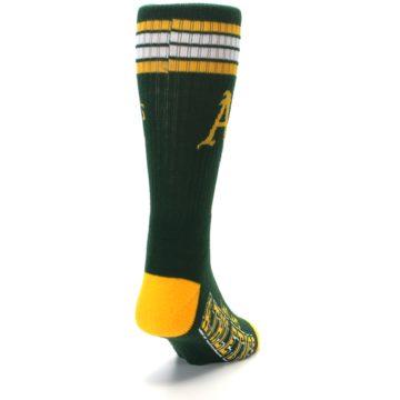 Image of Oakland Athletics Men's Athletic Crew Socks (side-1-back-20)