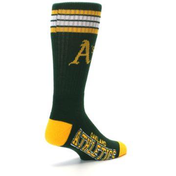 Image of Oakland Athletics Men's Athletic Crew Socks (side-1-back-22)