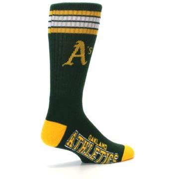 Image of Oakland Athletics Men's Athletic Crew Socks (side-1-23)