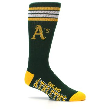 Image of Oakland Athletics Men's Athletic Crew Socks (side-1-25)