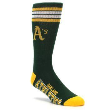 Image of Oakland Athletics Men's Athletic Crew Socks (side-1-27)