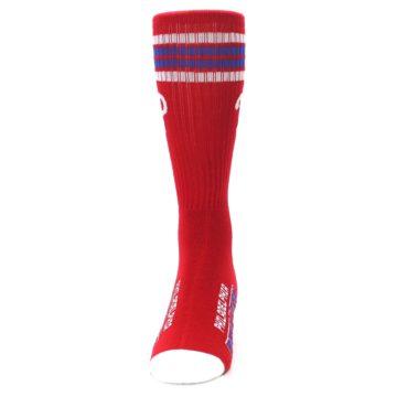 Image of Philadelphia Phillies Men's Athletic Crew Socks (front-05)
