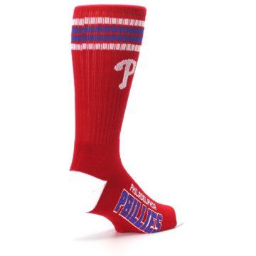 Image of Philadelphia Phillies Men's Athletic Crew Socks (side-1-back-22)