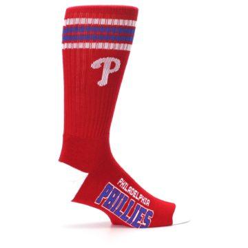 Image of Philadelphia Phillies Men's Athletic Crew Socks (side-1-24)