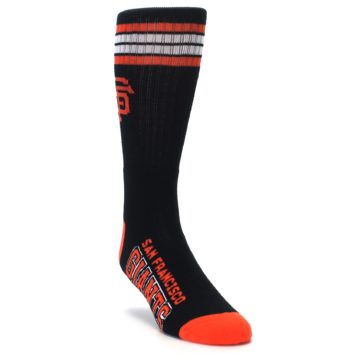 Image of San Francisco Giants Men's Athletic Crew Socks (side-1-front-02)