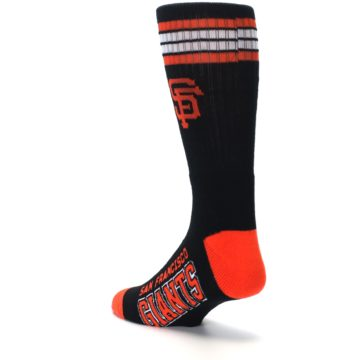 Image of San Francisco Giants Men's Athletic Crew Socks (side-2-back-15)