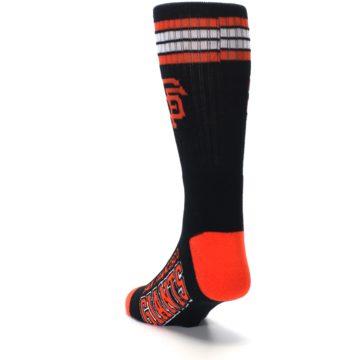 Image of San Francisco Giants Men's Athletic Crew Socks (side-2-back-16)