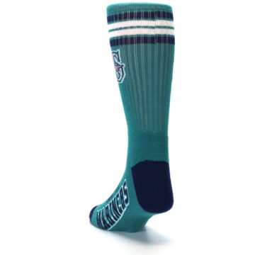 Image of Seattle Mariners Men's Athletic Crew Socks (side-2-back-16)