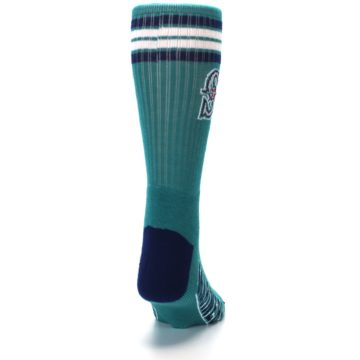 Image of Seattle Mariners Men's Athletic Crew Socks (back-19)
